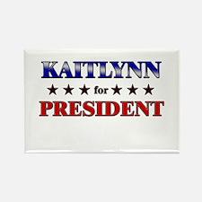 KAITLYNN for president Rectangle Magnet