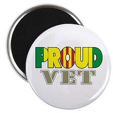 Proud Vietnam Veteran Vet Magnet