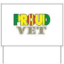 Proud Vietnam Veteran Vet Yard Sign