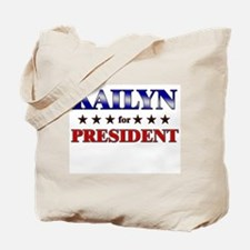 KAILYN for president Tote Bag