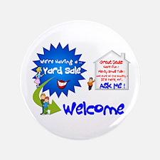 "YardSale Great Deals. 3.5"" Button"