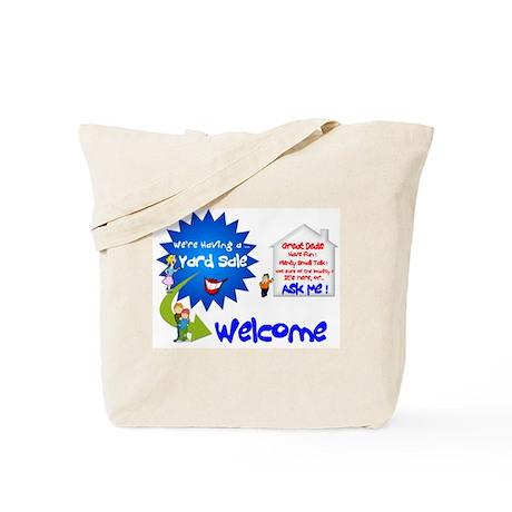 YardSale Great Deals. Tote Bag