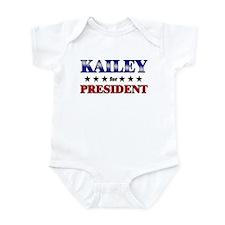 KAILEY for president Infant Bodysuit