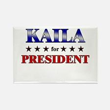 KAILA for president Rectangle Magnet