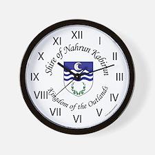 Nahrun Kabirun Wall Clock