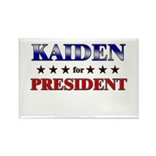 KAIDEN for president Rectangle Magnet