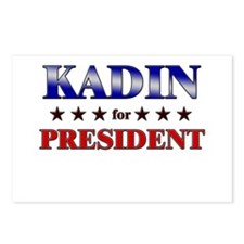 KADIN for president Postcards (Package of 8)