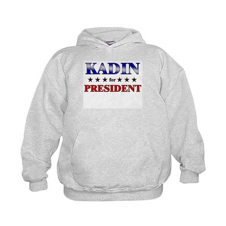 KADIN for president Kids Hoodie
