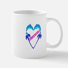 "Dolphin Heart ""Unbreakable"" 1 ~ Mug"