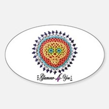 Sugar Skull Hot Pad Decal