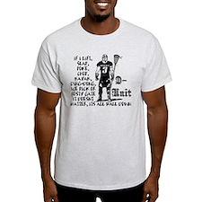 Lacrosse DUnit Checks T-Shirt