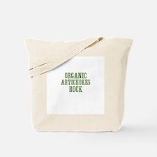 Organic Artichokes Rock Tote Bag