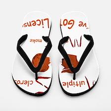 Multiple Sclerosis Medical License Flip Flops