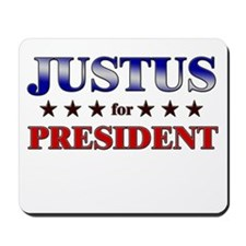 JUSTUS for president Mousepad