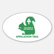 Unique Smoky mountains Sticker (Oval)
