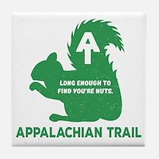 Cute Appalachian trail Tile Coaster