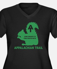 Funny Appalachian trail Women's Plus Size V-Neck Dark T-Shirt