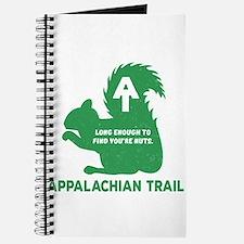 Appalachian Trail Squirrel Nuts Green Journal