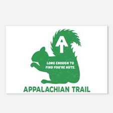 Appalachian Trail Squirre Postcards (Package of 8)