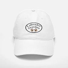Labrador Grandma Oval Baseball Baseball Cap