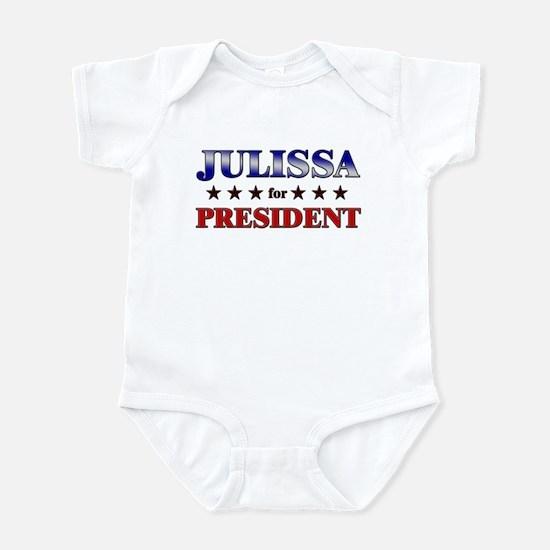 JULISSA for president Infant Bodysuit