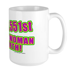 Not The Sexiest Woman Large Mug