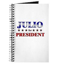 JULIO for president Journal