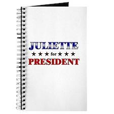 JULIETTE for president Journal