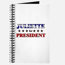 JULIETTE for president Journal