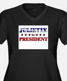 JULIETTE for president Women's Plus Size V-Neck Da