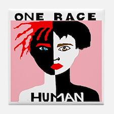 Anti-Racism Tile Coaster