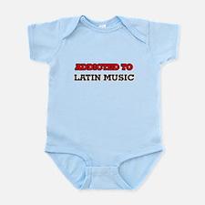 Addicted to Latin Music Body Suit