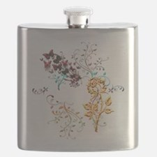 Joyful Garden Flask