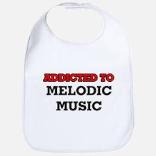 Addicted to Melodic Music Bib