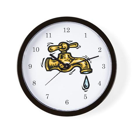 Plumber Wall Clock