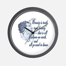 Beauty is Truth Wall Clock