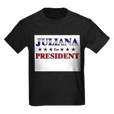 JULIANA for president T