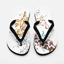 Joyful Garden Flip Flops