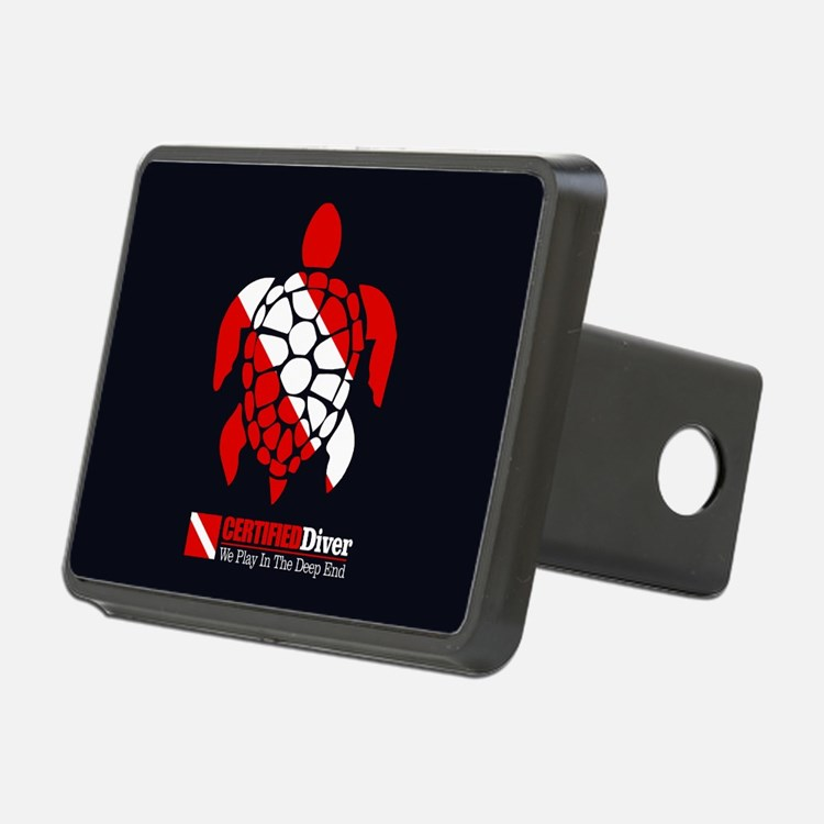Turtle Dive Flag Hitch Cover