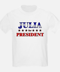 JULIA for president T-Shirt