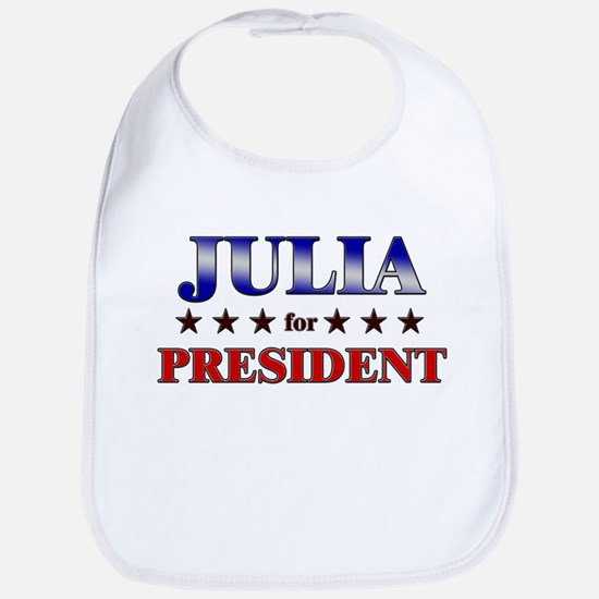 JULIA for president Bib