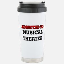 Addicted to Musical The Stainless Steel Travel Mug