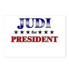 JUDI for president Postcards (Package of 8)