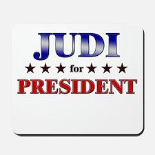 JUDI for president Mousepad