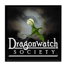 """Dragonwatch"" Tile Coaster"