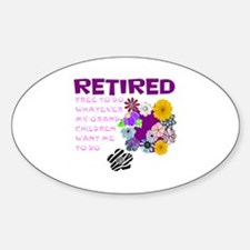 Retired Decal