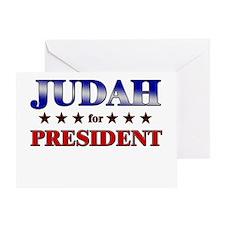 JUDAH for president Greeting Card