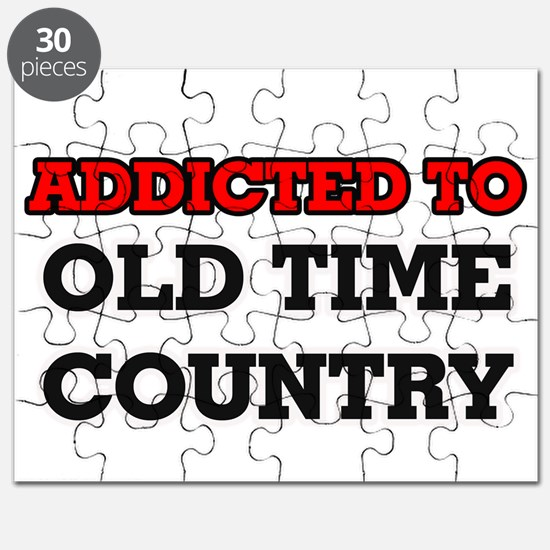 Addicted to Old Time Country Puzzle
