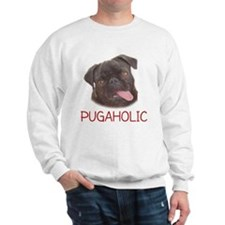 Pugaholics - Black Sweatshirt