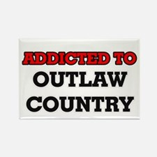 Addicted to Outlaw Country Magnets